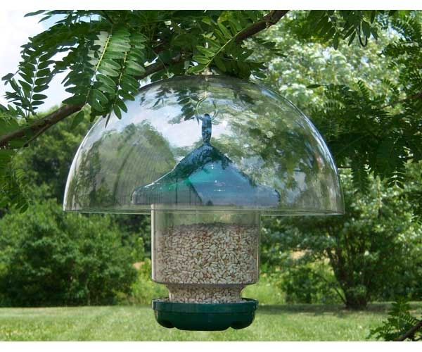 """12"""" Clear Hanging Dome Baffle,SESQ83"""