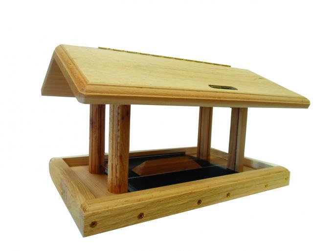 6-Qt 4-sided Cedar Hopper,Backyard Nature Products,WC4-200S