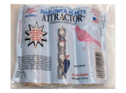 Sunflower Heart Suet Plug,Woodpecker Products,0405