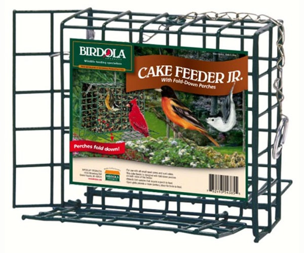 Birdola Jr Feeder w/Fold Down Perch,Birdola,BDOLA54385