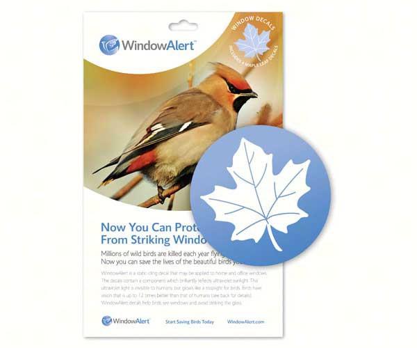 Window Alert Maple Leaf,Window Alert,WINDA1