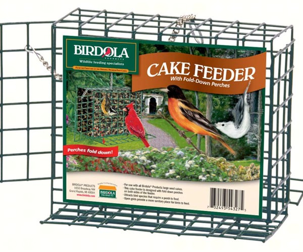 Large Birdola Feeder w/Fold Down Perches,Birdola,BDOLA54327