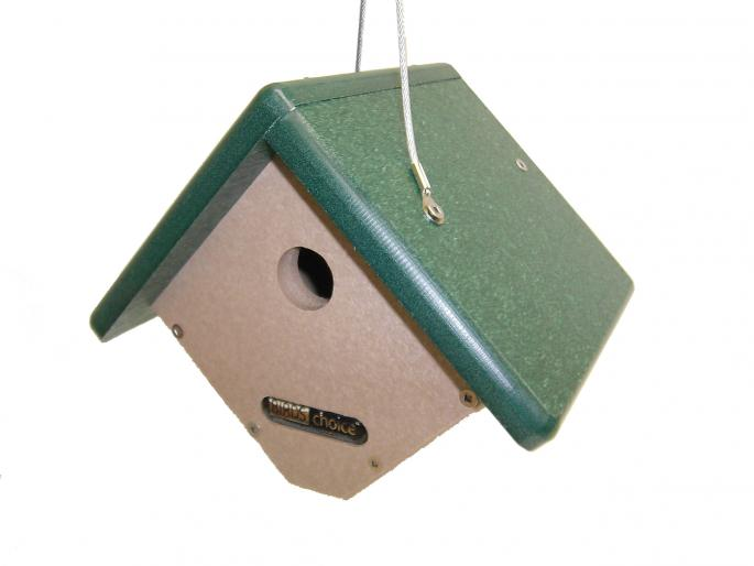 Recycled Wren Bird House,Backyard Nature Products,SNWREN