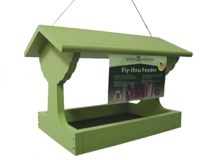 Recycled Fly-thru Feeder Green Solutions,Backyard Nature Products,GSFT200