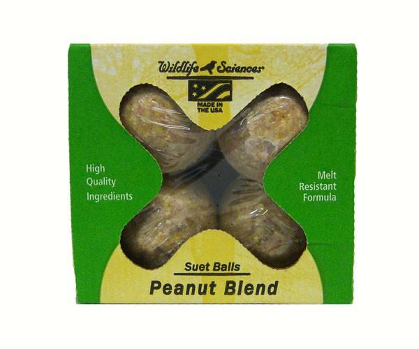 Peanut Butter Suet Balls/Boxed 4,WSC404