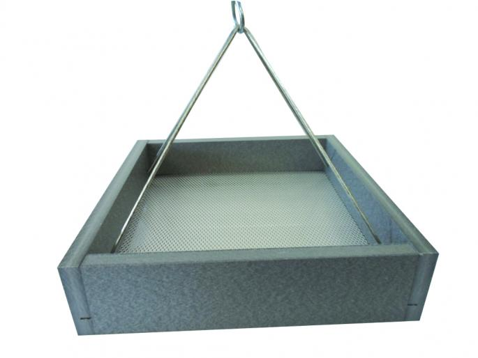 Small Gray Recycled Hanging Tray,GSHPF100-GRAY