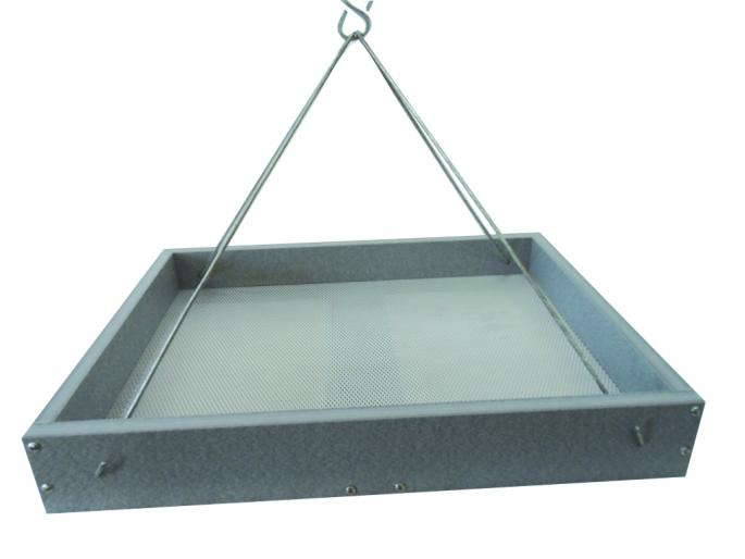 Large Gray Recycled Hanging Tray,GSHPF250-GRAY