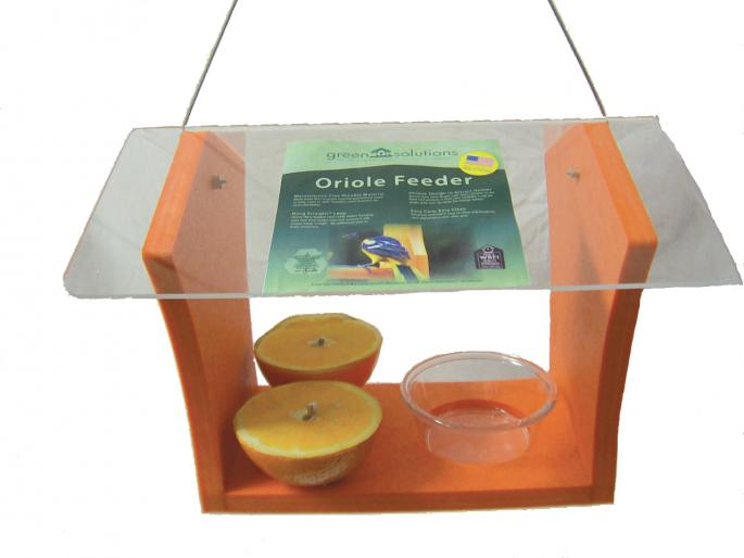 Oriole Feeder with Clear Roof,GSOF