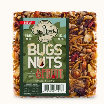 Bugs, Nuts & Fruit Small Cake,Mr. Bird,410