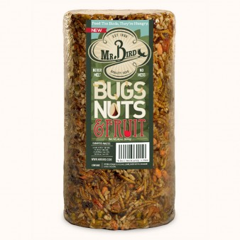 Bugs, Nuts & Fruit Small Cylinder,Mr. Bird,428