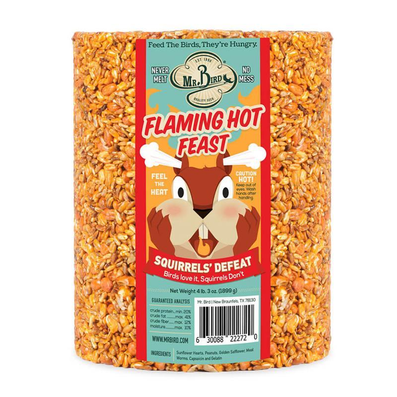 Flaming Hot Feast Large Cylinder,Mr. Bird,272